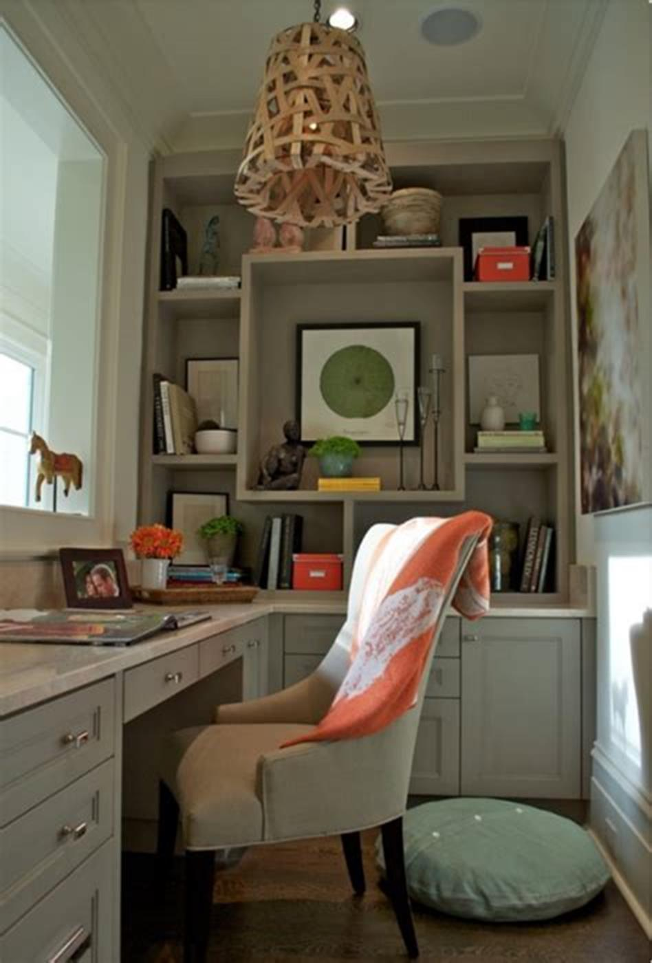 50 Best Small Space Office Decorating Ideas On a Budget 2019 48