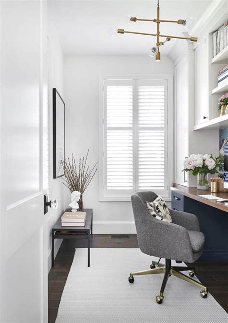 50 Best Small Space Office Decorating Ideas On a Budget 2019 49