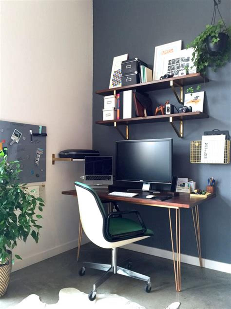50 Best Small Space Office Decorating Ideas On a Budget 2019 52