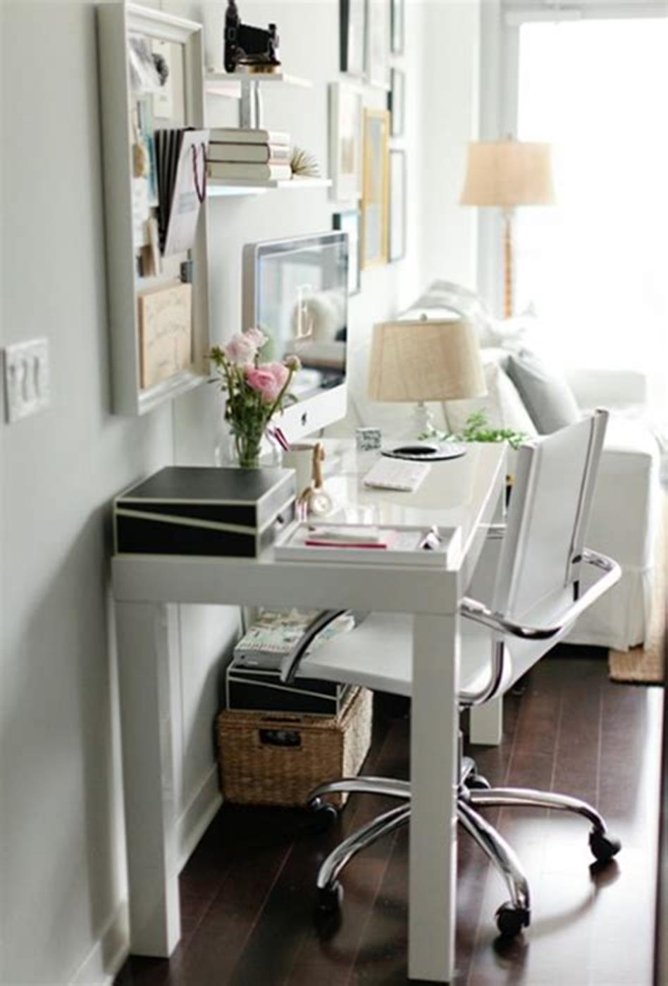 50 Best Small Space Office Decorating Ideas On a Budget 2019 63
