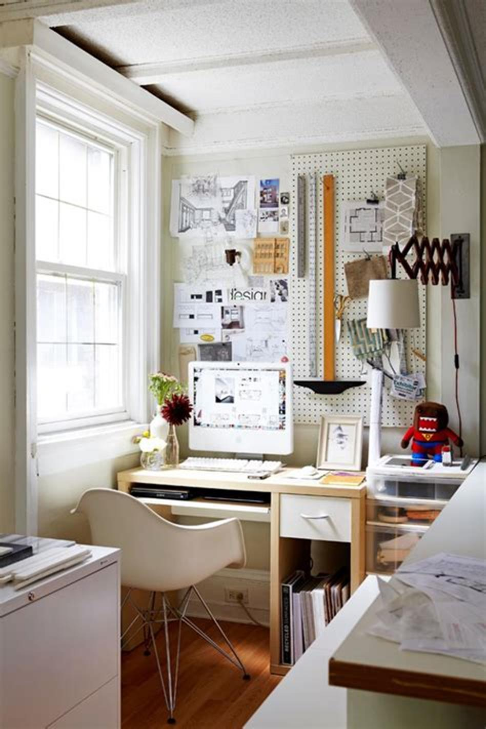 50 Best Small Space Office Decorating Ideas On a Budget 2019 7