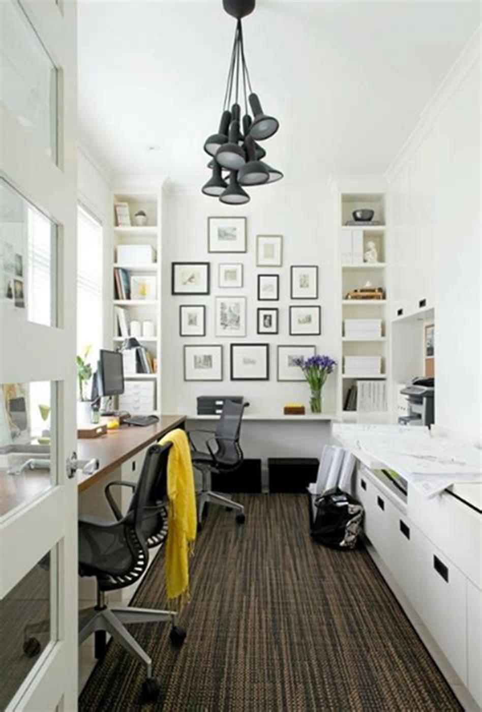 50 Best Small Space Office Decorating Ideas On a Budget 2019 9
