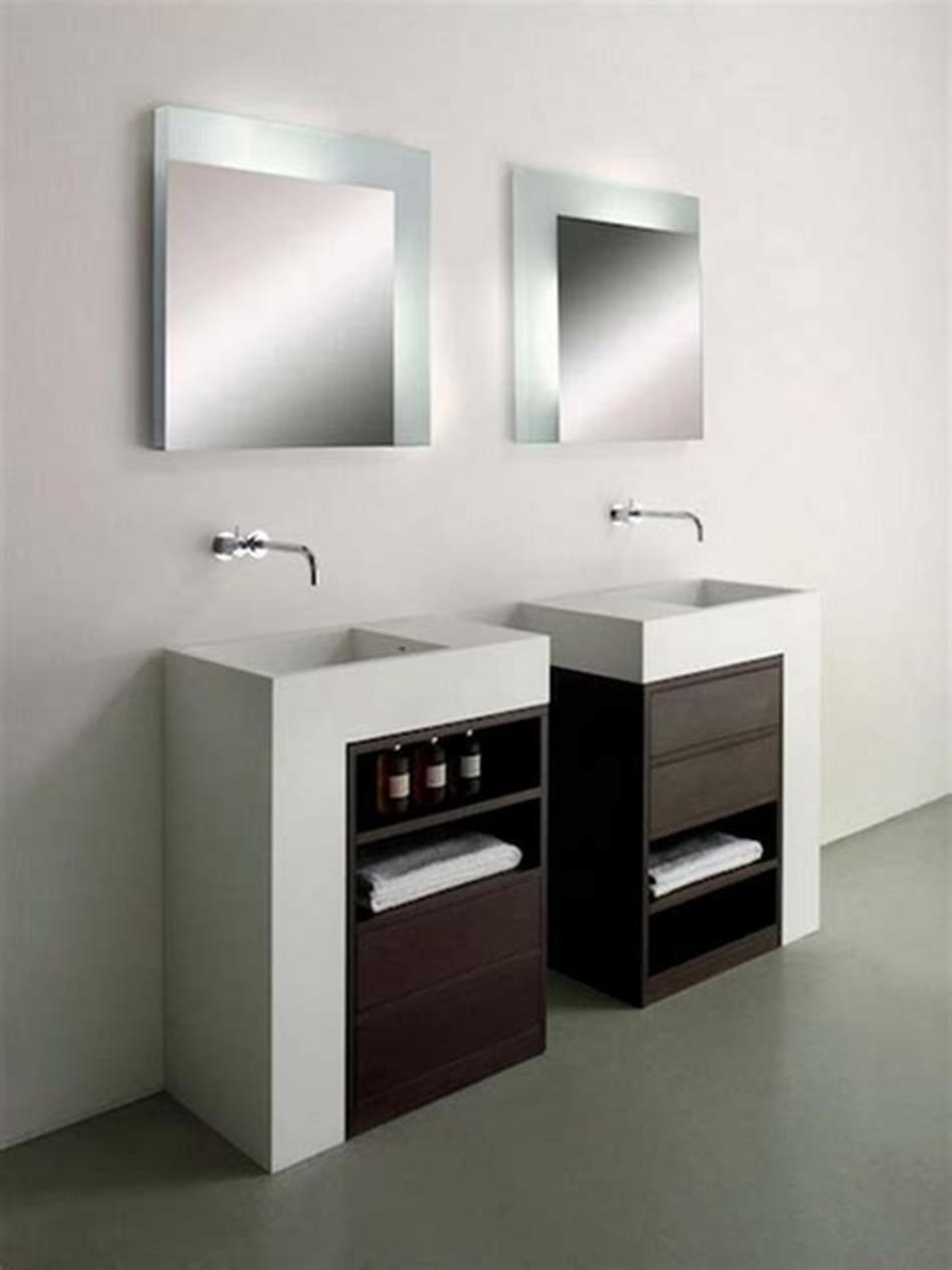 35 Best Wall Mounted Vanities For Small Bathrooms 2019 17