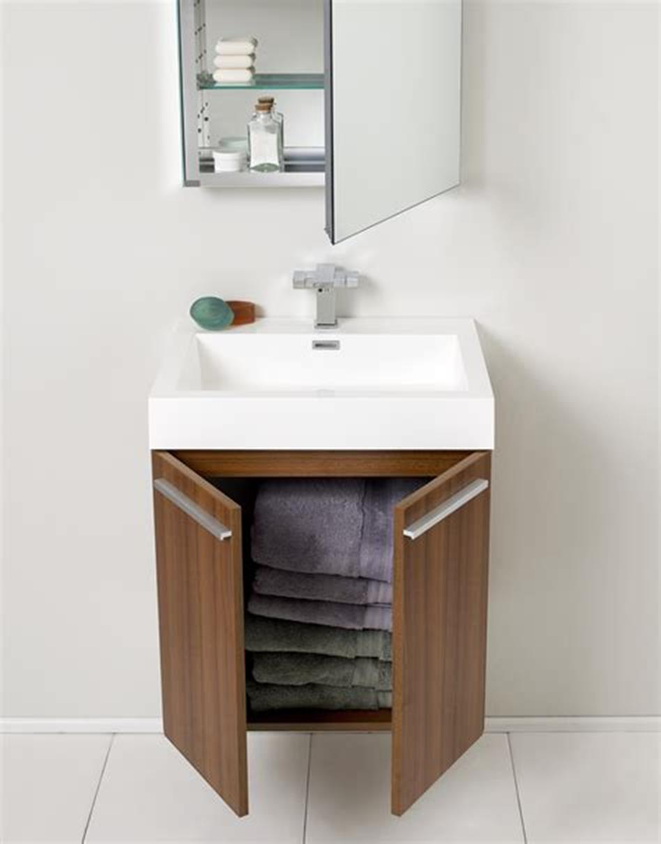 35 Best Wall Mounted Vanities For Small Bathrooms 2019 23