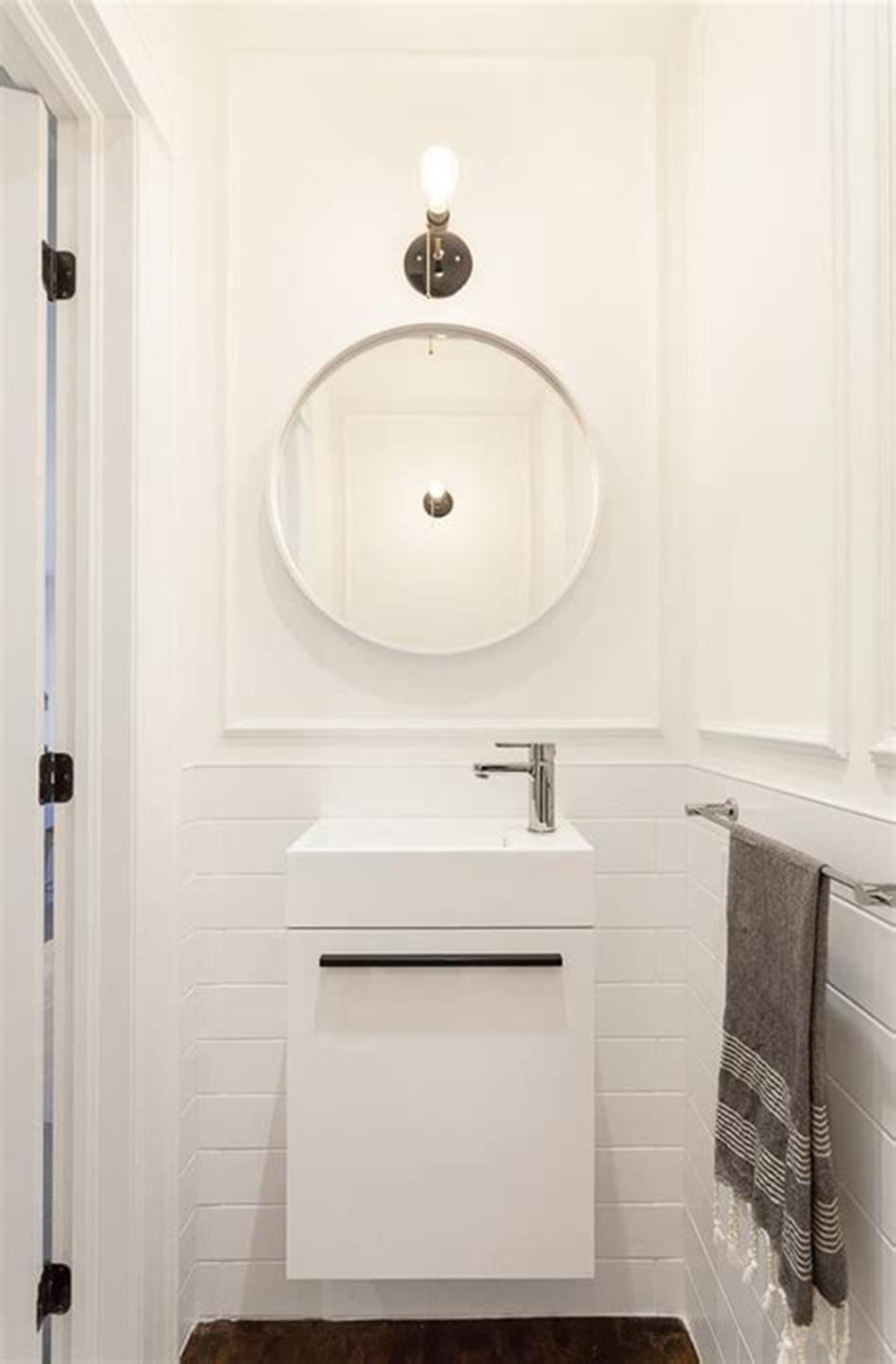 35 Best Wall Mounted Vanities For Small Bathrooms 2019 3