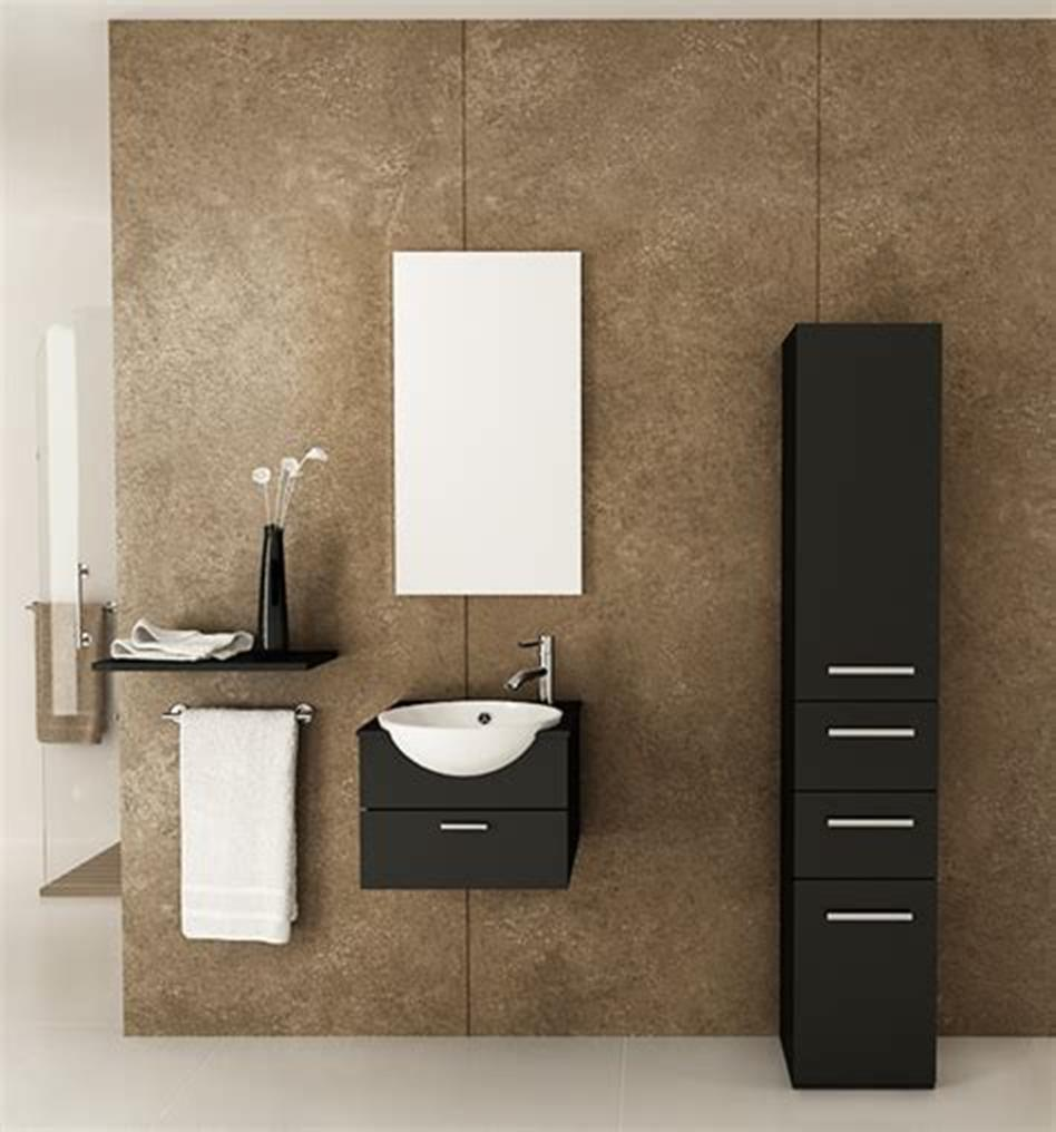 35 Best Wall Mounted Vanities For Small Bathrooms 2019 31