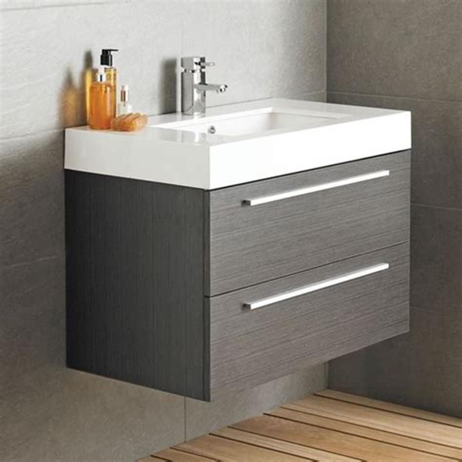 35 Best Wall Mounted Vanities For Small Bathrooms 2019 39