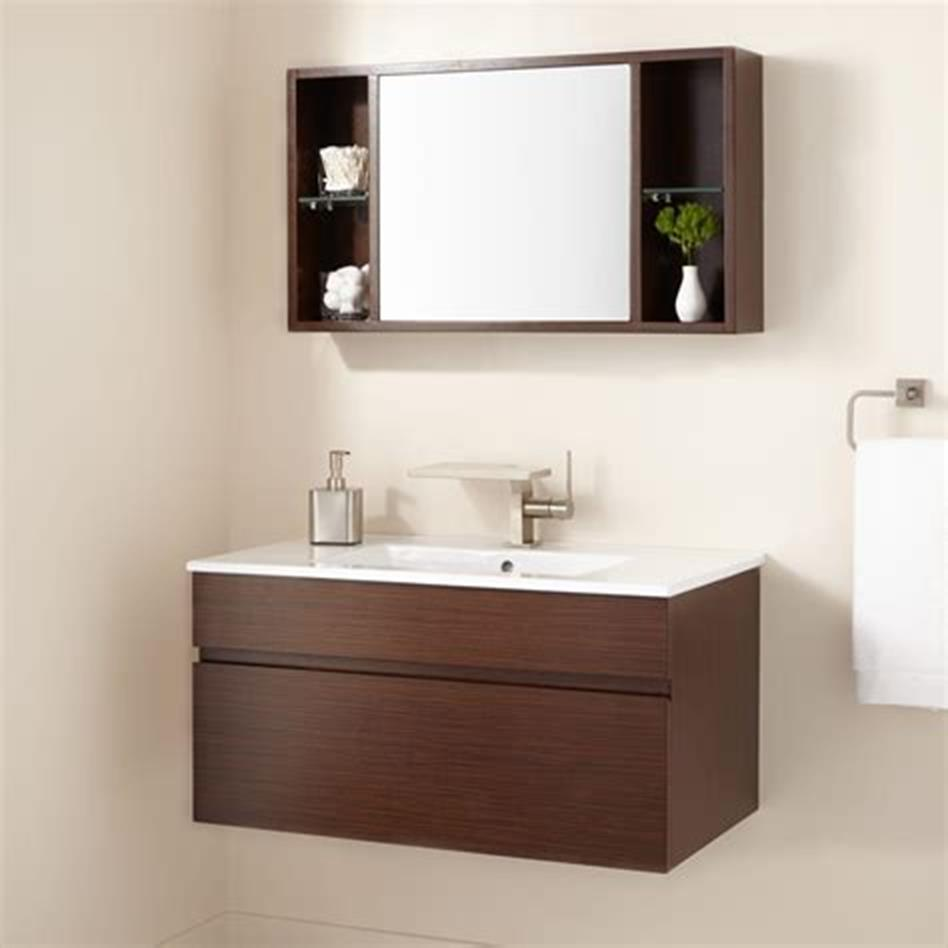 35 Best Wall Mounted Vanities For Small Bathrooms 2019 42