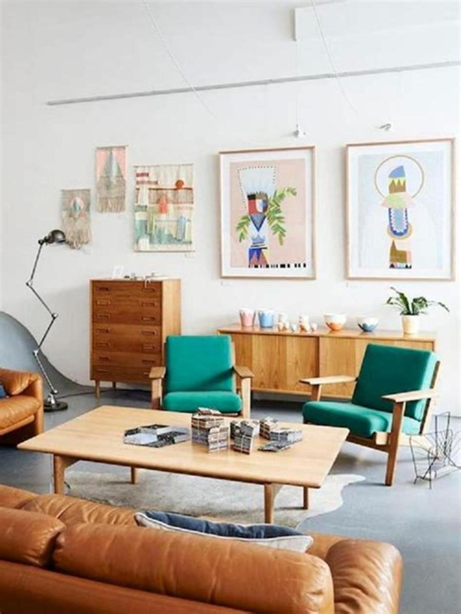 47 Great Mid Century Modern Living room Design and Decorating Ideas 14