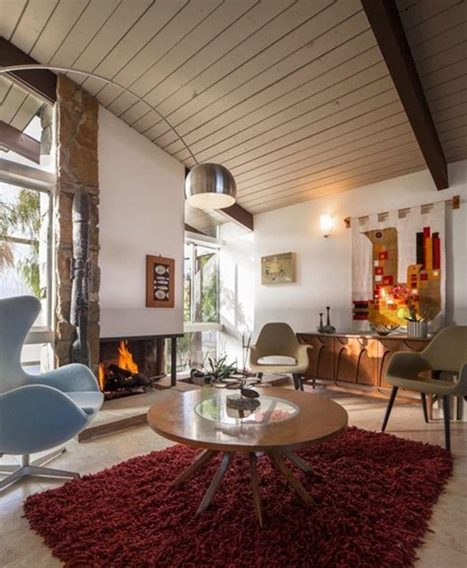 47 Great Mid Century Modern Living room Design and Decorating Ideas 23