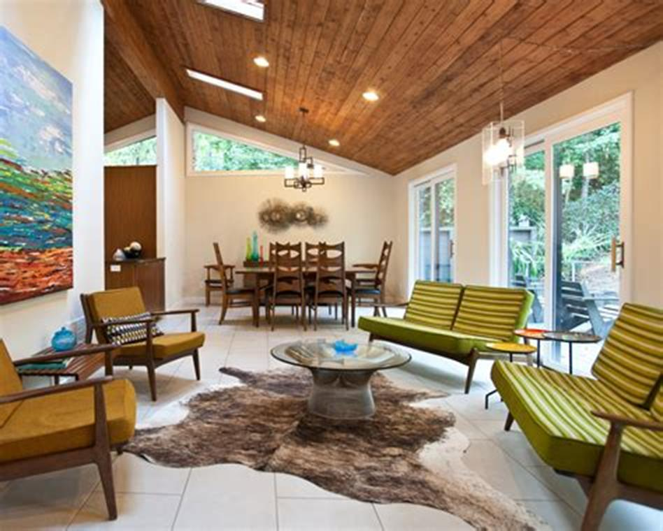 47 Great Mid Century Modern Living room Design and Decorating Ideas 41