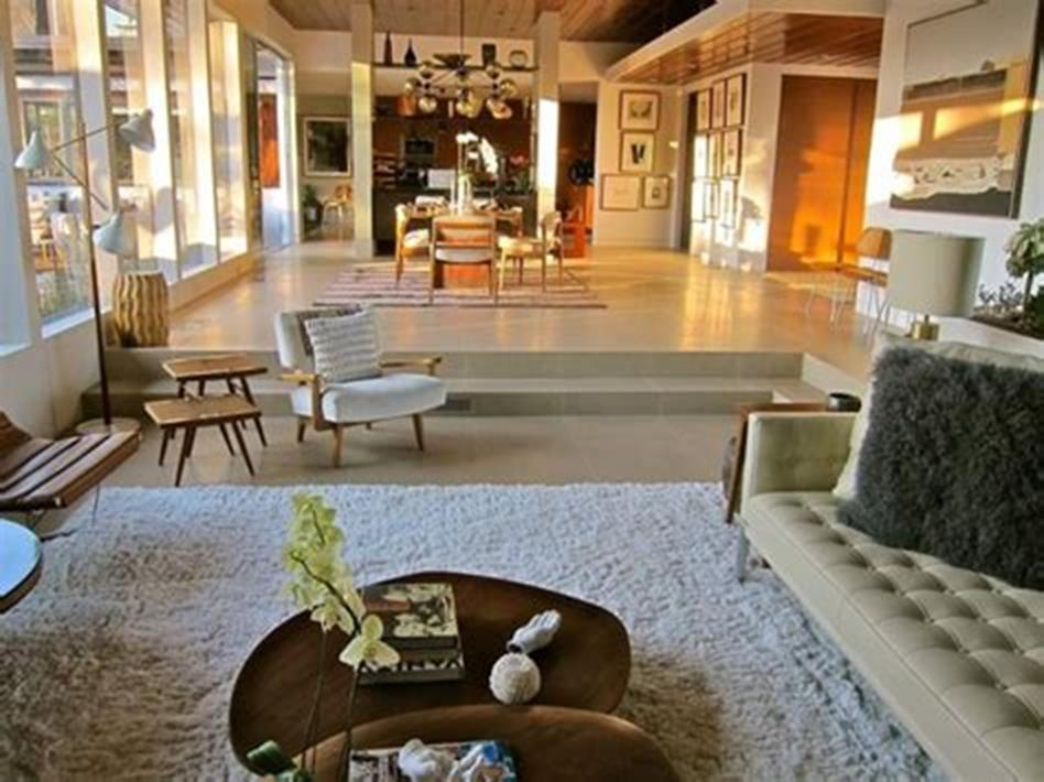 47 Great Mid Century Modern Living room Design and Decorating Ideas 53