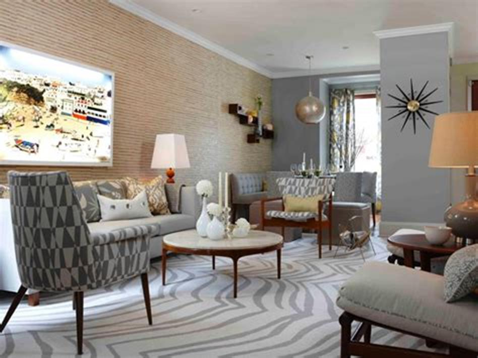 47 Great Mid Century Modern Living room Design and Decorating Ideas 55