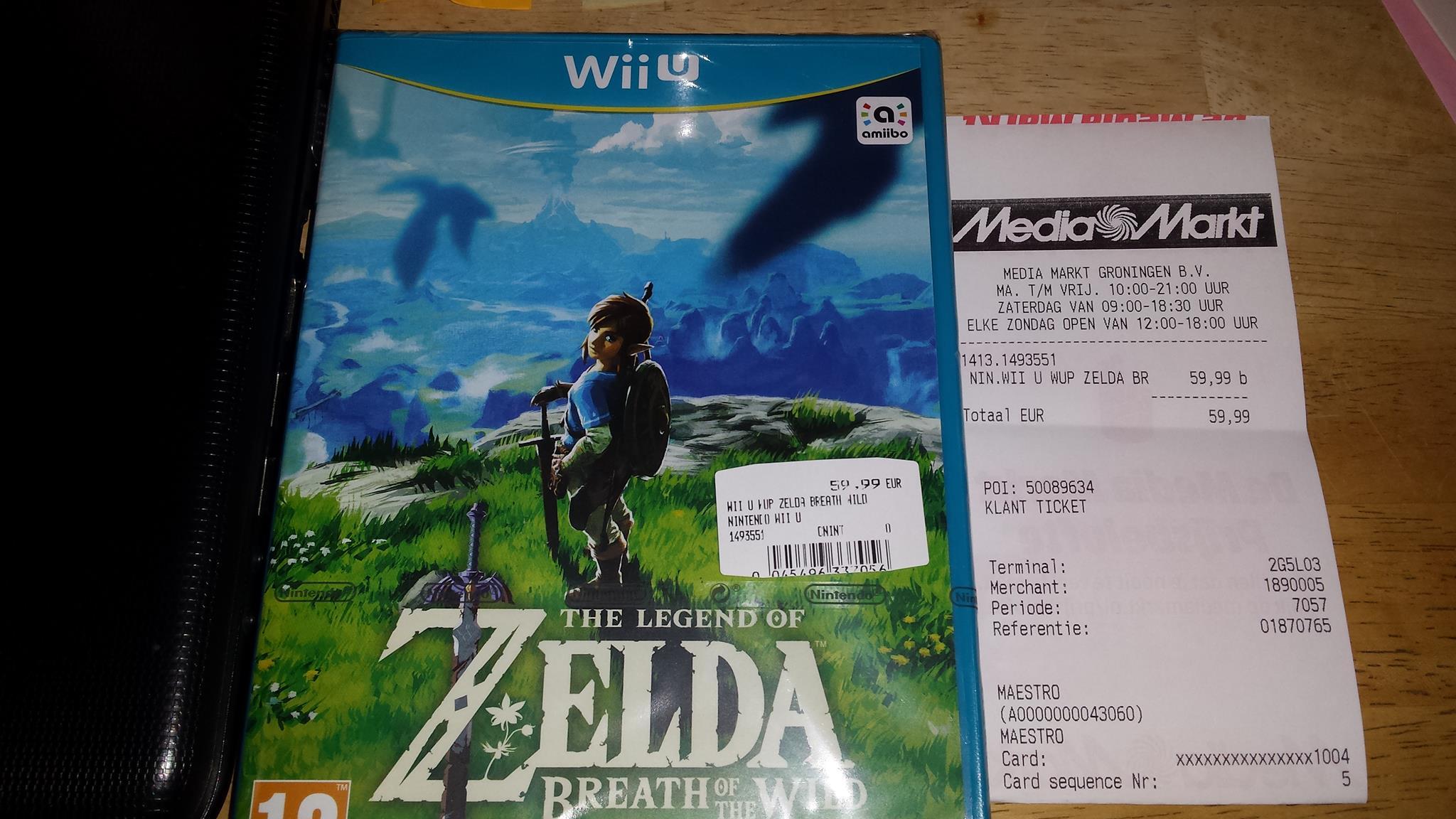 Netherlands Retailer Sells The Legend Of Zelda Breath