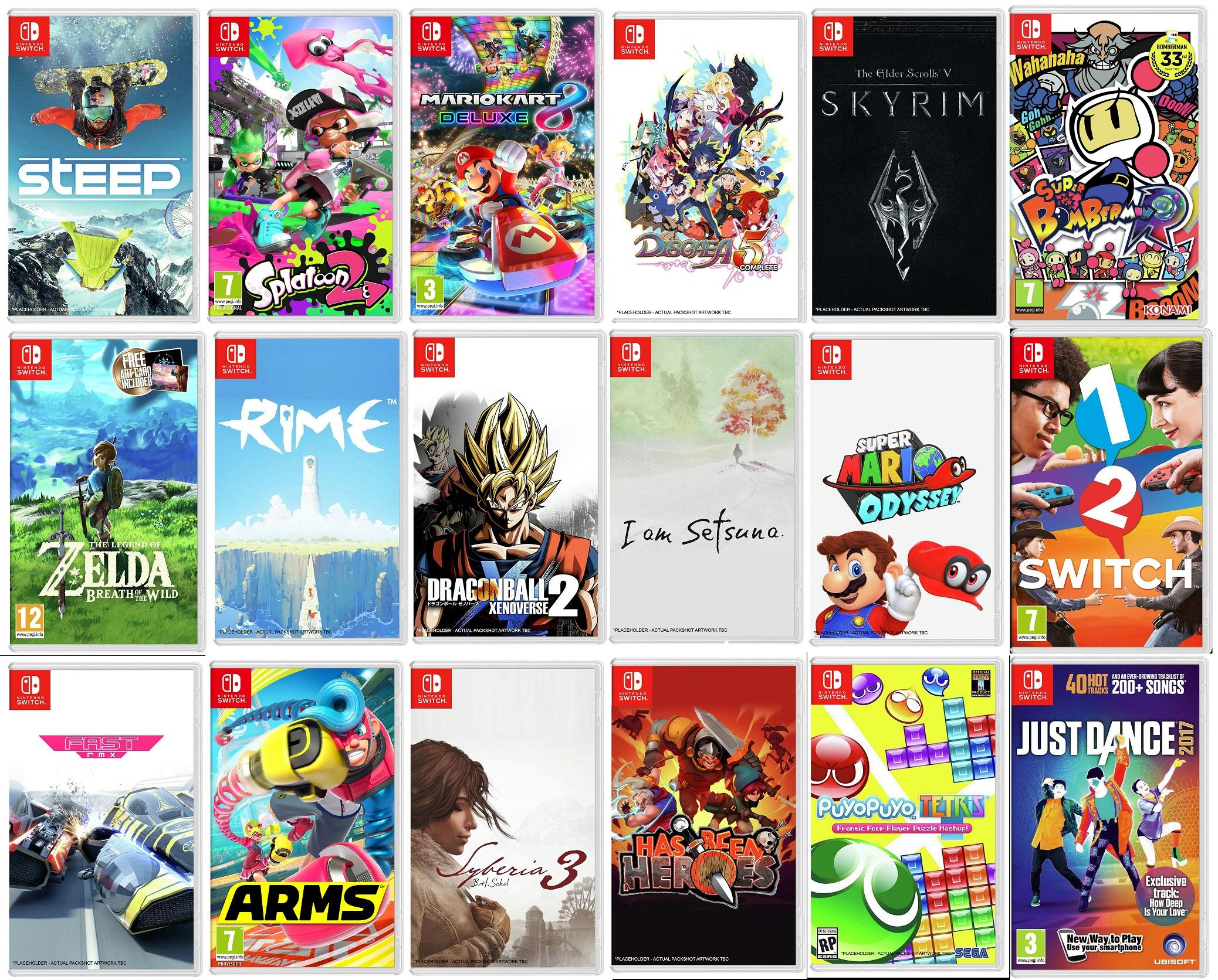 Nintendo Uk Introducing The Top 50 Nintendo Switch Games