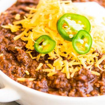 texas chili recipe beefy
