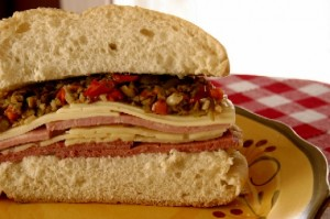 The Muffaletta from Central Grocery in New Orleans