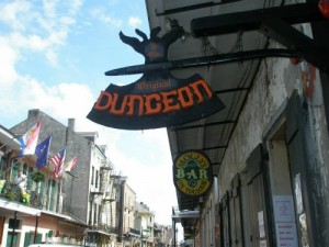 The Dungeon in the New Orleans French Quarter