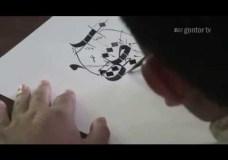Cara Menulis Huruf Shad Khat Riq'ah – Ust Muhammad Nur Lc – Belajar Kaligrafi Eps 5 part 2