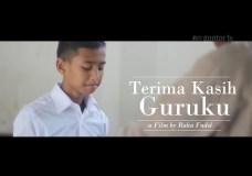 Short Movie – Terima kasih Guruku