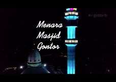 Menara Masjid Gontor – Aerial View