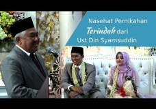Pertanyaan Ust Din Syamsuddin bikin manten tersipu