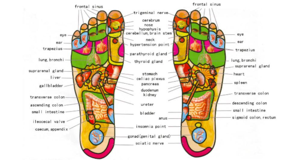 Calming Ayurvedic Foot Massage