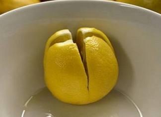 put lemons near bed