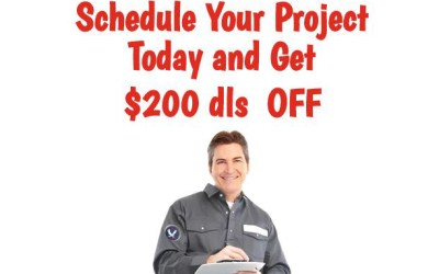 Schedule you project with us today and save $200