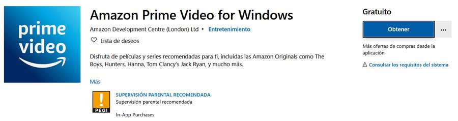 Descargar Amazon Prime Video