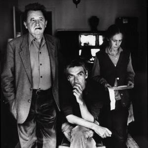 Jean-Marie Straub, Pedro Costa en Danièle Huillet bij 'Where Does Your Hidden Smile Lie?'
