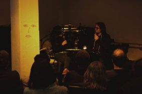 Allesandro Cortini artist talk (Elleke Bosma)