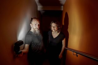 Aidan Baker en Karen Willems - Foto: Stephan Vercaemer