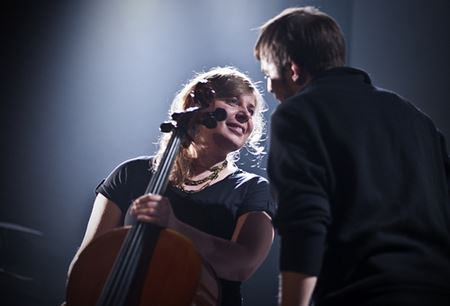 Nils Frahm & Anne Müller by Michel Mees