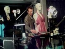 Oscar Jan Hoogland met zijn popband
