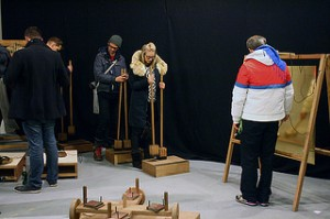 Opening of the CTM.14 Exhibition - Generation Z : ReNoise   Kunstraum Kreuzberg/Bethanien - © CTM/Stefanie Kulisch 2014