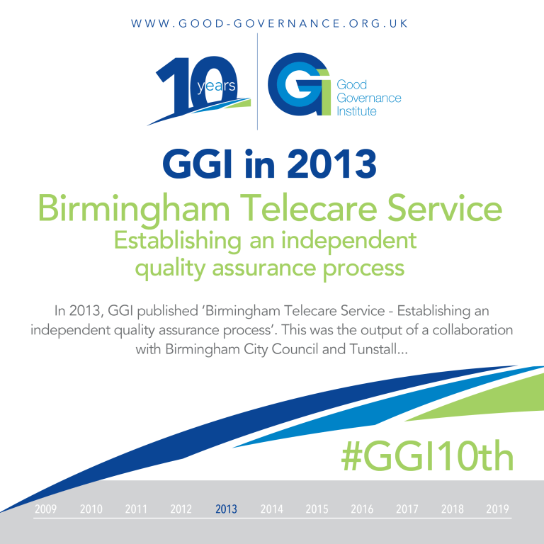 Birmingham Telecare Service Establishing an independent quality assurance process