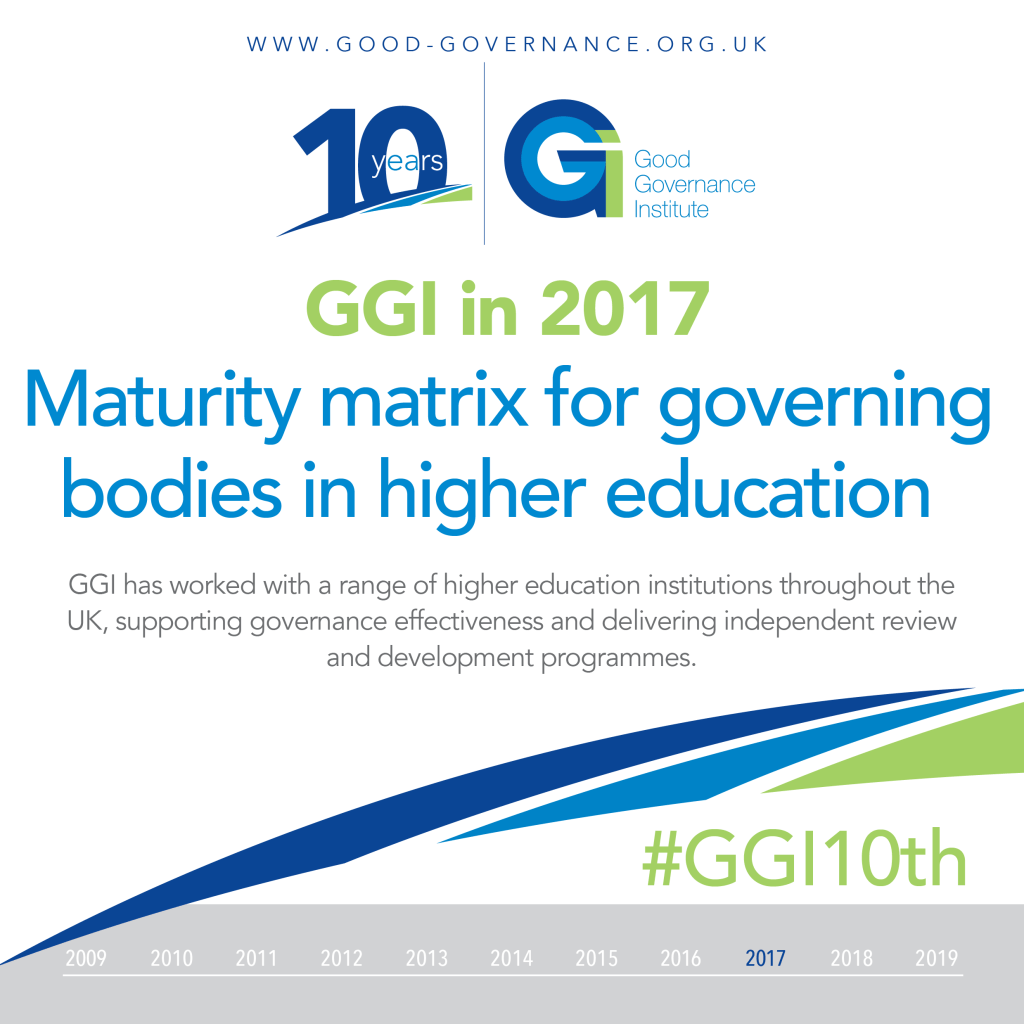 GGI10th - GGI in 2017 - Maturity matrix for governing bodies in higher education