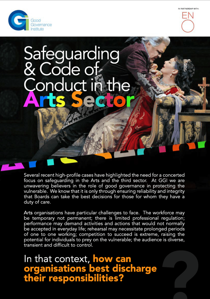 Safeguarding & Code of Conduct Board Assurance Prompt Handout