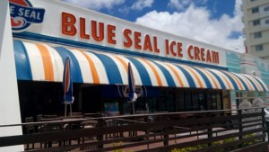 If Okinawa ice cream, blue seal! Born in America and taste bred in Okinawa