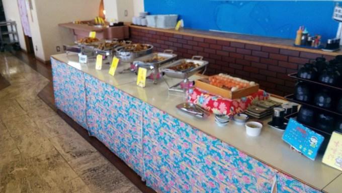 The dish of Uchinaa buffet Ayahashi