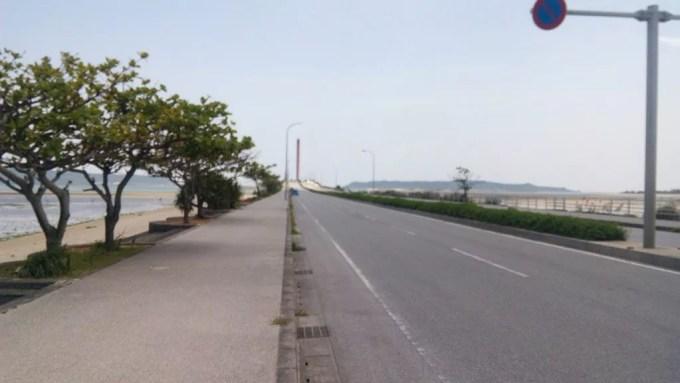 Okinawa Kaichu-douro road entrance