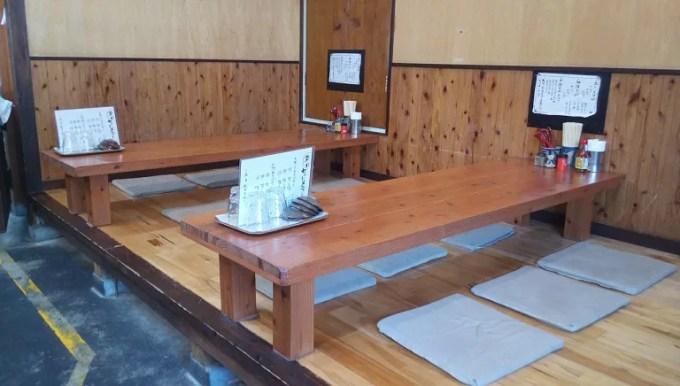Inside shop of Mokuhai OKinawa soba Toraya 2