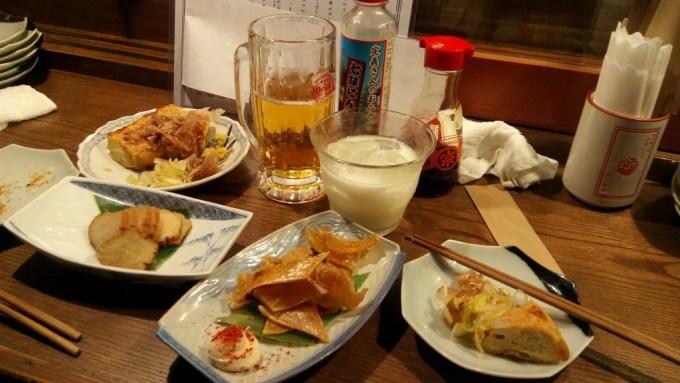 Sake and dish