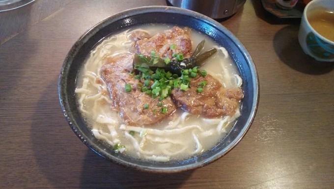Soft buckwheat Soki soba with rich taste