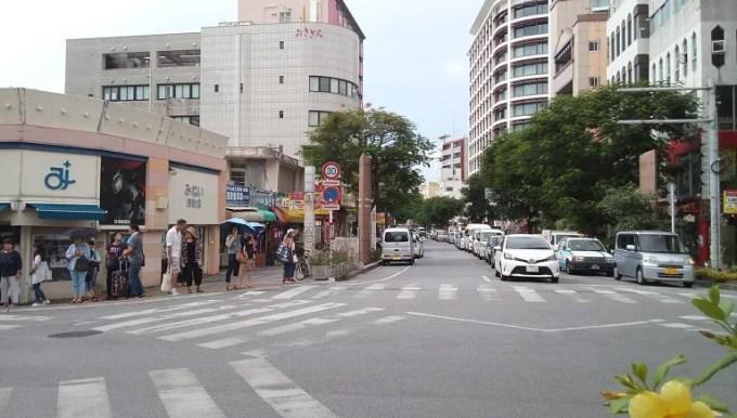 Kadoya is on the T-junction where International street