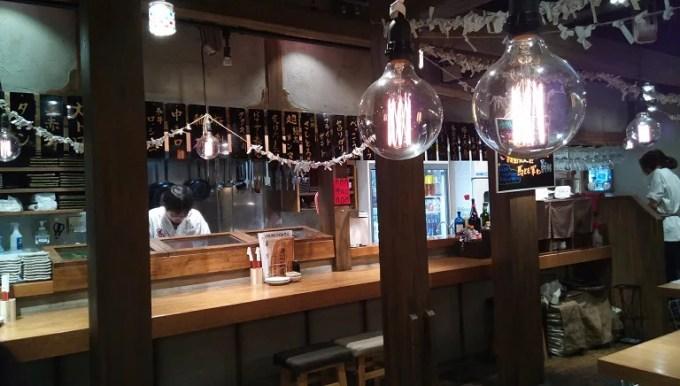 肉寿司の店内写真1