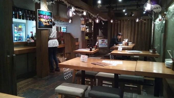肉寿司の店内写真2