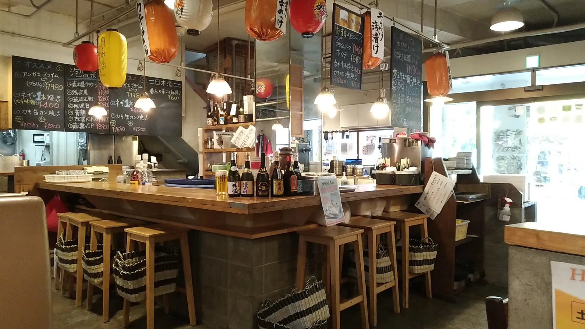 a photo inside the Oyster Shack 1
