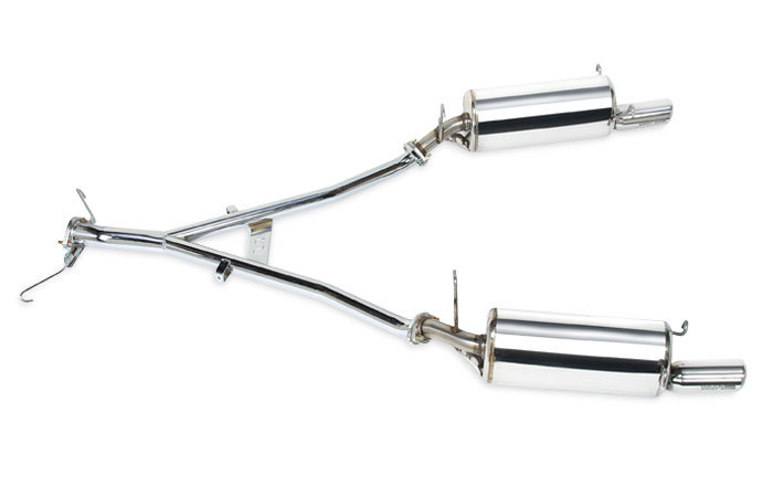 Racing Beat Power Pulse RX-7 Cat Back Exhaust System for